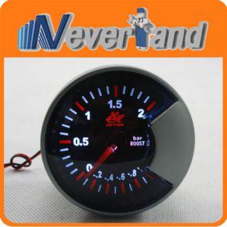 Universal Car Autogauge Boost Turbo PSI Pressure Vacuum Gauge Meter