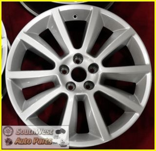 12 Ford Flex 20 Hypersilver Wheels Used Factory Rims Set 3771