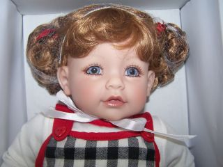 Adora Doll Checker Check Mate 20 Baby Girl Redhead Blue Eye Vinyl