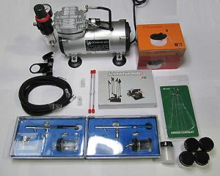 KIT + AIRBRUSH COMPRESSOR AIR BRUSH COMPRESSOR AIRBRUSHING + NAIL ART