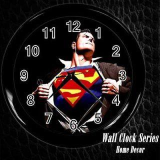 new superman super hero wall clock decor gift from hong