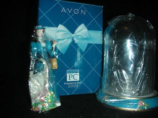 2009 Avon Presidents Club Mrs. Albee Award Mini Figurine NIB Sealed