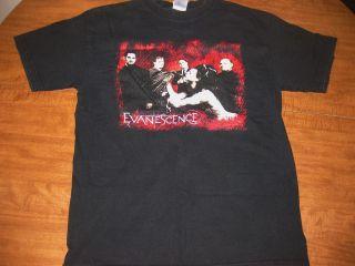 medium black T shirt gothic rock AMY LEE tee Arkansas sexy OG