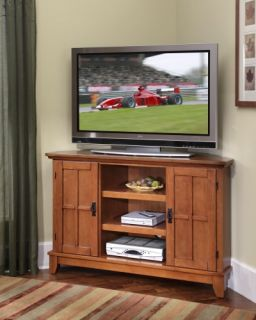 Home Styles 5180 07 Home Style Arts & Crafts Corner Entertainment TV