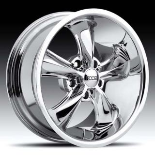 FOOSE Legend Wheel SET 20x8.5 20x10 Chrome Hot Rod Classic 20inch RIMS