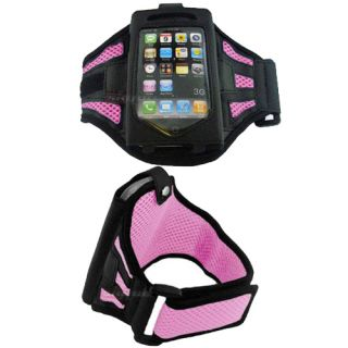 Pink Sports Armband Case for Apple iPod Touch 8Gb 16Gb 32Gb iphone 4
