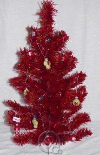seminoles 2 foot mini artificial christmas tree w 12 ornaments