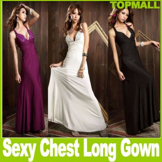 New Evening Gown Dress Full Length Long Dress cocktail party summer