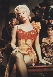 Bus Stop 1956 Marilyn Monroe Classic Movie Postcard