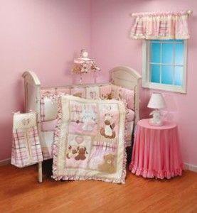 Dolly Tender Hearts Pink Bunny Wall Paper Border NIP