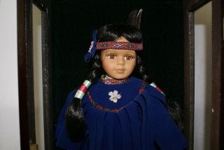 ASHLEY BELLE NATIVE AMERICAN Porcelain Limited edition mint