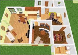 Sierra Complete Home w/ Architech PC CD create design build 3D dream
