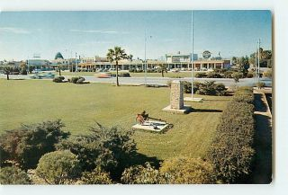 6442 Chandler Arizona AZ The Five Star City Cars Buildings c1950 60s