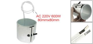 220V 600W 80 x 80mm Heating Element Band Heater for Plastic Injection