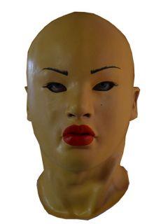 Tammy Asian Female Latex Mask for Halloween Crossdressing