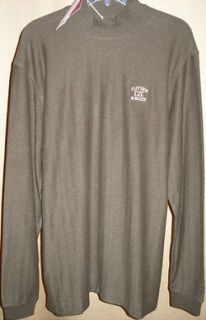 Cutter and Buck Tour Long Sleeve Atwell Mock Neck LG Forest Heather