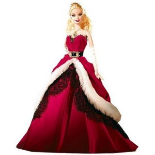 Mattel Barbie 2007 Holiday Collector Doll 027084442946