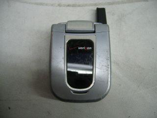 Audiovox CDM 180 Camera Cell Phone Silver Verizon 041240108675