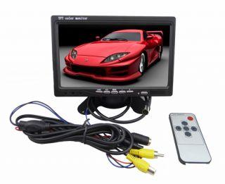 TFT LCD Car Rear View Monitor 2 4G Wireless Car Backup Camera Night