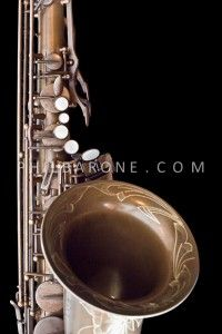 BRAND NEW PHIL BARONE VINTAGE BARE BRASS VINTAGE TENOR SAXOPHONE!