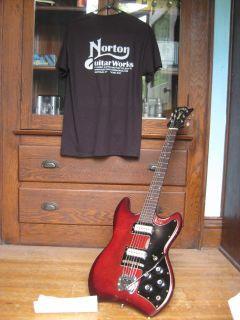 Polara S100 Thunderbird Guitar W Orig Case Dan Auerbach Black Keys