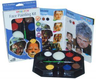 SNAZAROO Military Jungle Face Paint Painting Kit Boys