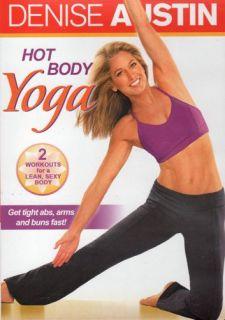 Denise Austin Hot Body Yoga 2 Workouts Exercise DVD New SEALED Workout