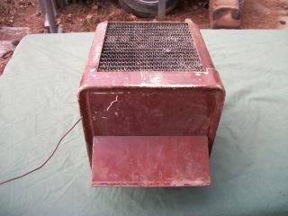 Vintage Car Truck Underdash Heater Unit for Parts or Restoring Rat Rod