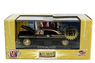 M2 Machines Auto Thentics 1957 Dodge Custom Royal Lancer D500 R16