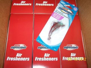 Lot of 30 pieces Auto Expressions Car Vehicle air freshener one case