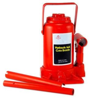 Ton Low Profile Bottle Jack Hydraulic Automotive Shop Lift Tool