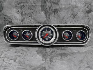 Billet Aluminum Adapter Panels w/ Auto Meter Designer Black Gauges