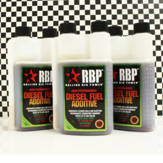 RBP HP High Performance Diesel Fuel Power Additive Increase Mileage