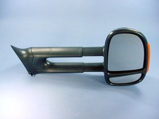 Extendable Towing Side Mirrors Dodge RAM Truck 94 02