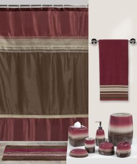 Pink And Brown Bathroom Accessories On PopScreen