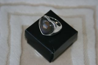 Heart Mood Ring Size 8 by Avon