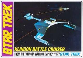 AMT 1/650 Star Trek Klingon Battle Cruiser Std Ed Plastic Model Kit