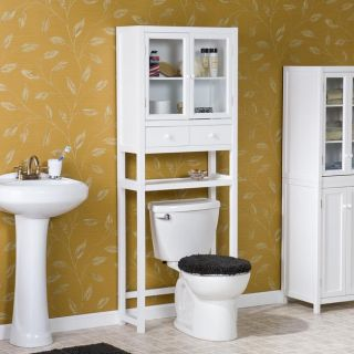 white spacesaver bathroom cabinet product description two storage