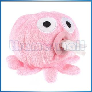 Octopus Napkin Tissue Box Toilet Paper Cover Holder Case Tissue