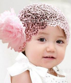 1pc baby girl feather/flower headband, yarn, ribbon, feather, lovely