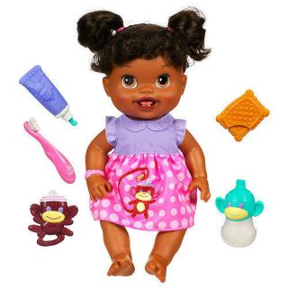 Baby Alive Babys New Teeth Doll African American