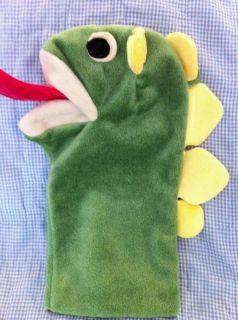 Baby Einstein Puppet Green Bard Green Dragn Puppets DVD Video Little