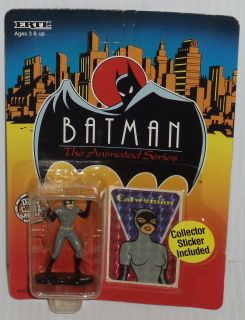Ertl Batman Animated Series Die Cast Catwoman Figure