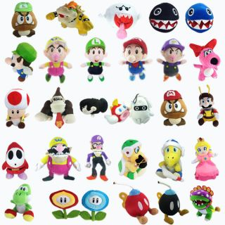 Mario Bros Plush Character Soft Toy Stuffed Animal Collectible