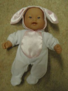 Mini 8 Berenguer Baby Doll Bunny Costume PJs 4 Teeth Smiling Mouth
