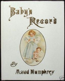 Babys Record Book by Maud Humphrey of The First Years