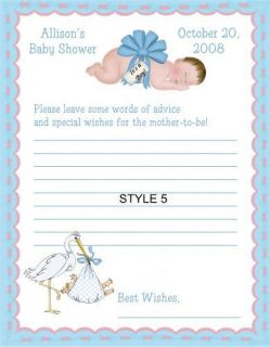 Babies Bows Boy Girl Baby Shower Game Pack 1