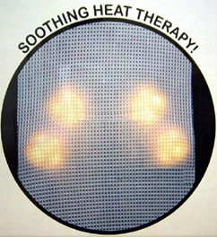Super Motion Back Massage Cushion Chair Lounger Shiatsu Kneading