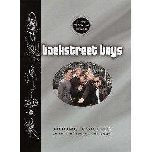 Book Backstreet Boys The Official Book Andre Csillaq 0385328001