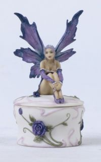 Amy Brown Ballet Girl Dancer Fairy Jewelry Trinket Box